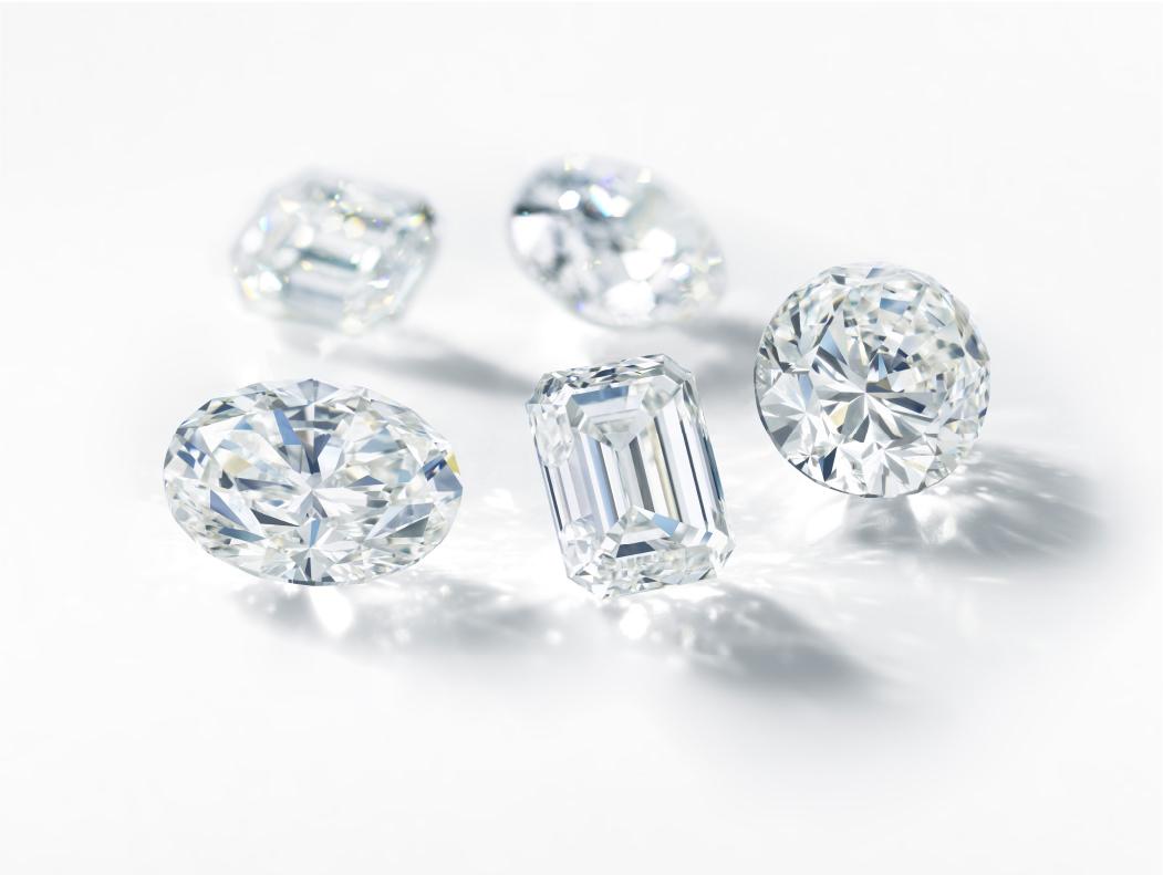 多種多様なダイヤモンド