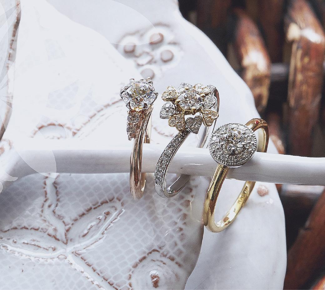 婚約指輪と結婚指輪のデザイン