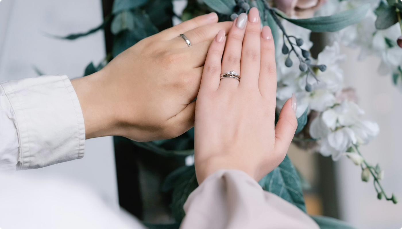 おふたりだけの指輪の完成