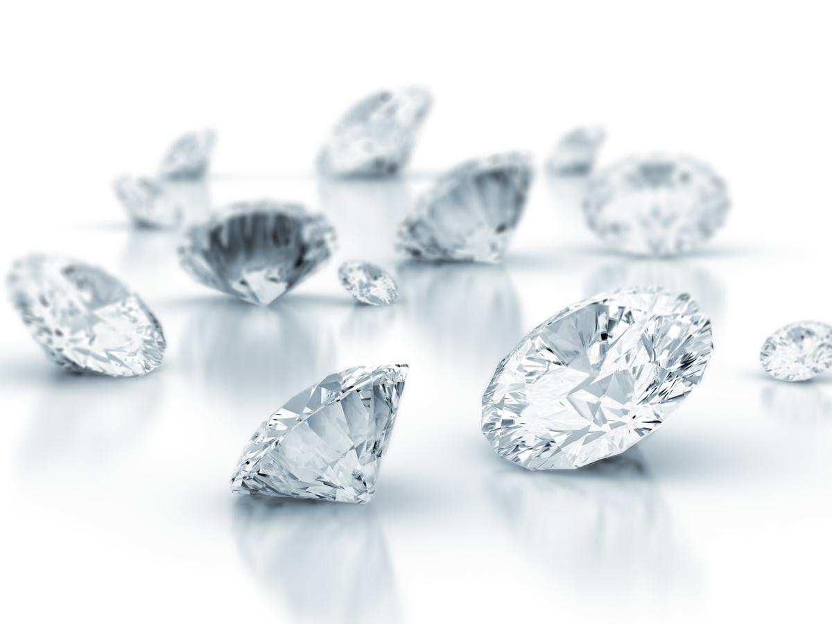品質の高いダイヤモンド