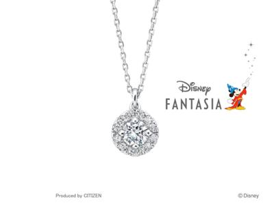 DisneyファンタジアのネックレスのPetit Pendant Necklace プチ・ペンダント・ネックレス