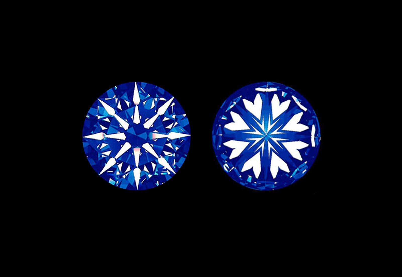 広島県広島市と広島県福山市にある中国エリア最大級のSELECTジュエリーショップヴァニラがご案内する最高品質ダイヤモンドに見えるハート&キュービッドの模様