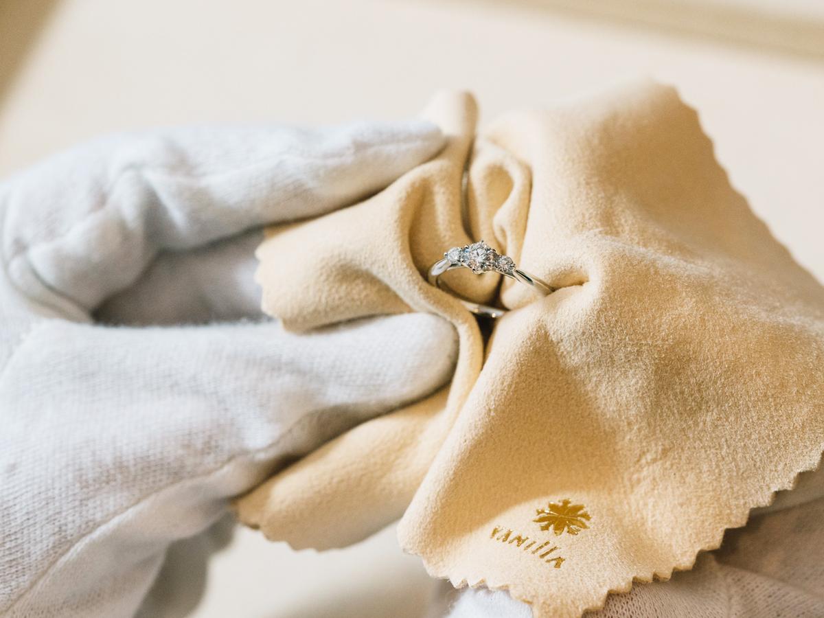 広島県広島市のヴァニラ広島店と広島県福山市のヴァニラ福山本店の新型コロナウイルス感染症予防対策について婚約指輪と結婚指輪の消毒とクリーニング