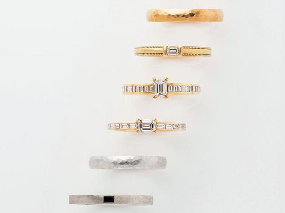 広島県広島市と広島県福山市の中国地方最大級のブライダルジュエリー専門店ヴァニラで取り扱うORECCHIOオレッキオの婚約指輪と結婚指輪選