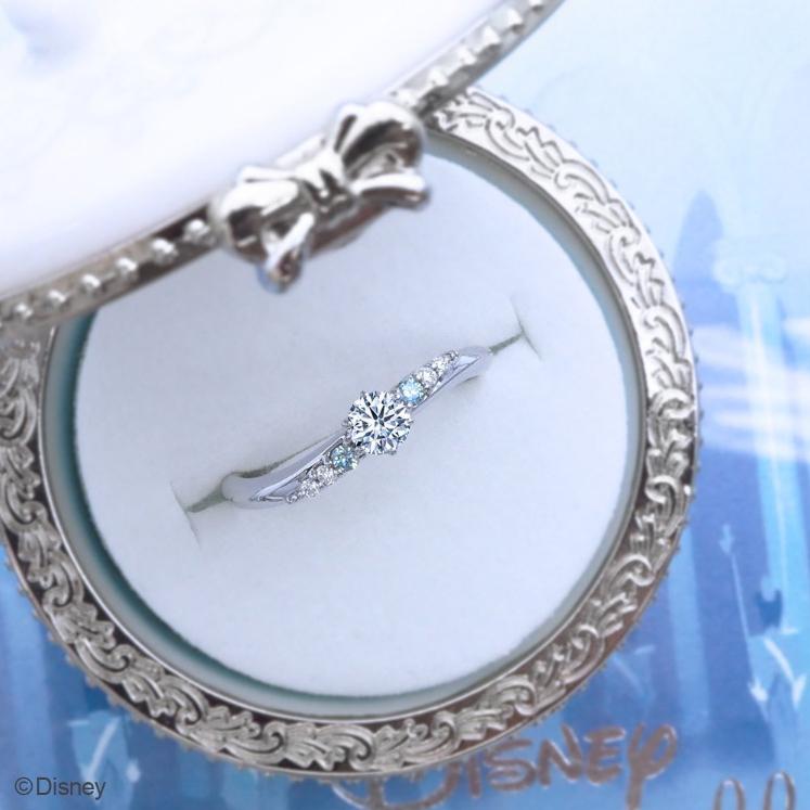 Disney Cinderella2021Crystal of Magicの婚約指輪