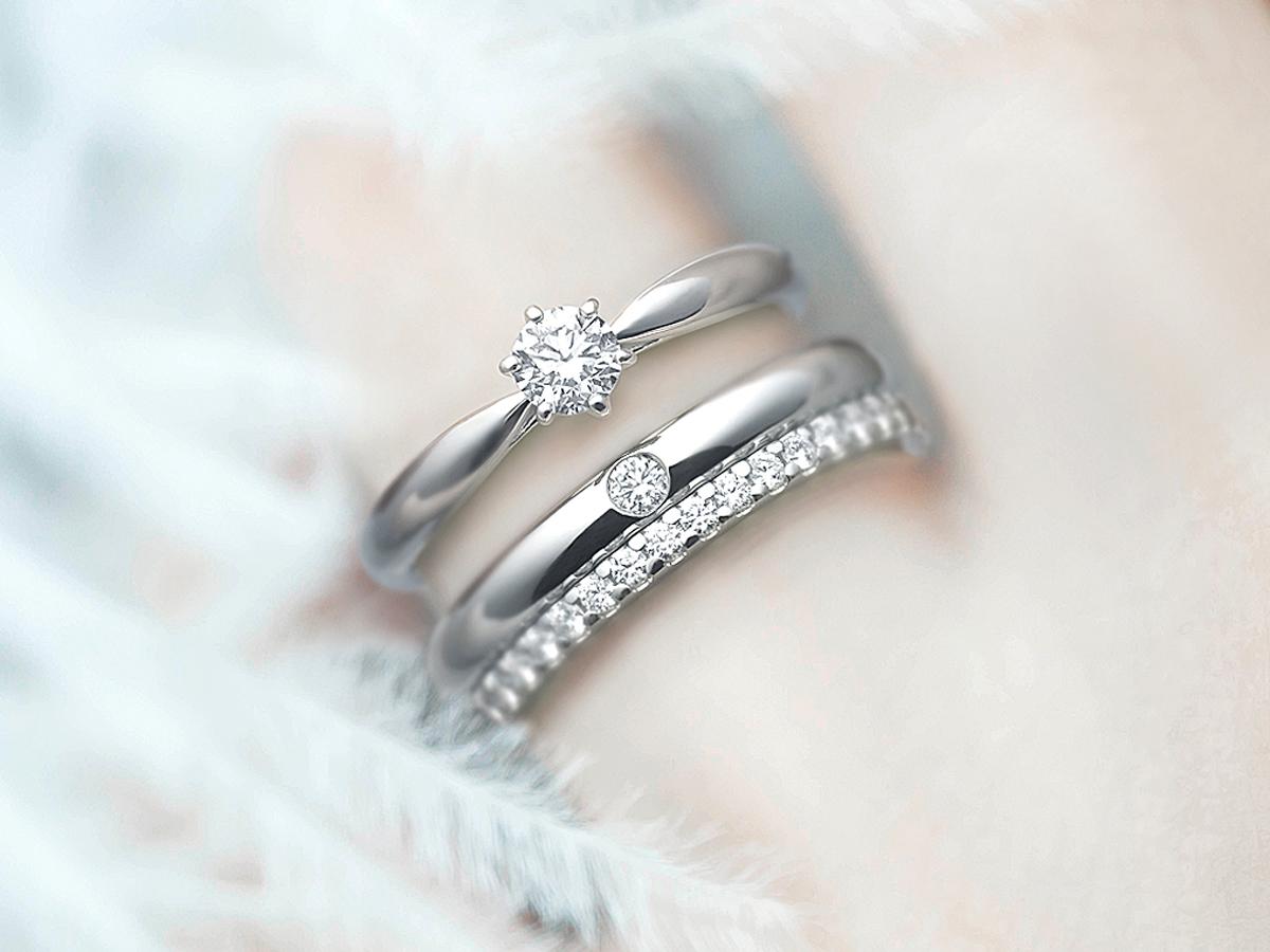 広島県広島市と広島県福山市にある中国エリア最大級の品揃えを誇るVANillA・ヴァニラ・バニラのダイヤモンドが美しい婚約指輪