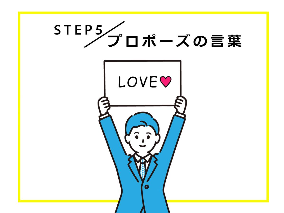 広島のサプライズプロポーズを応援するヴァニラのプロポーズスケジュール「言葉」について