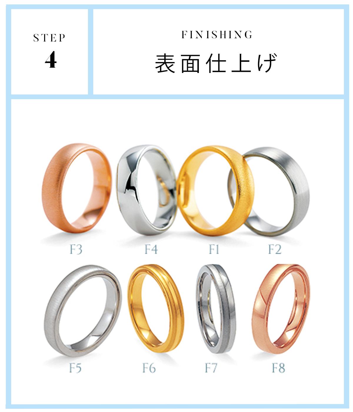 広島県広島市と広島県福山市のセレクトジュエリーショップヴァニラがおすすめするFURRERJACOTフラージャコ―の人気の結婚指輪シリーズ4