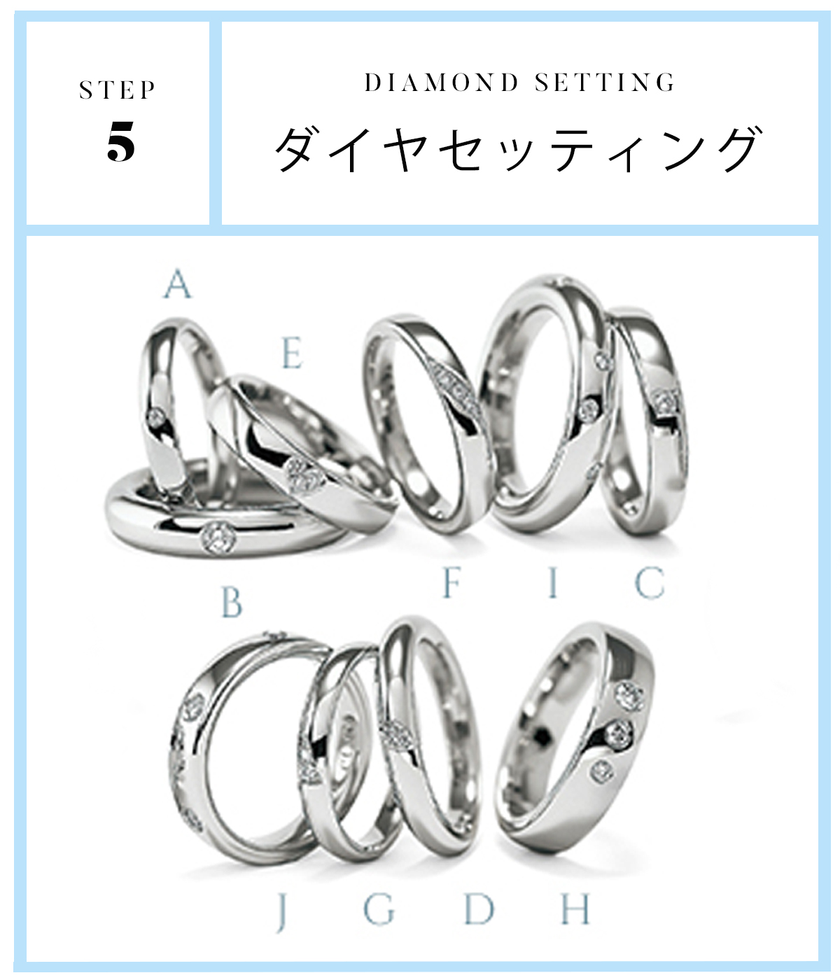 広島県広島市と広島県福山市のセレクトジュエリーショップヴァニラがおすすめするFURRERJACOTフラージャコ―の人気の結婚指輪シリーズ5